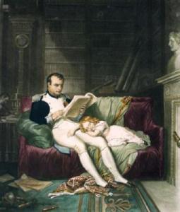 napoleon-reading