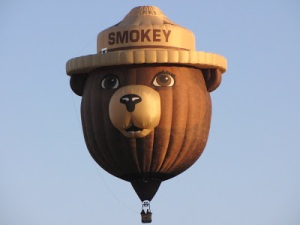 Smokey the Bear Balloon